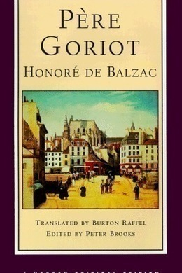 Father Goriot by Honoré de Balzac