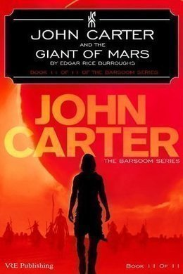 John Carter and the Giant of Mars by Edgar Rice Burroughs