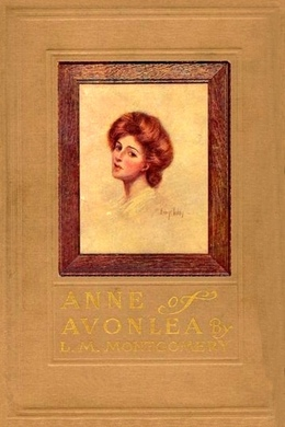 Anne Of Avonlea book cover