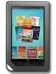 Barnes and Noble NOOK model image