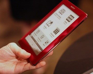 Sony Reader Red Touch Edition